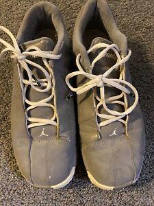Vintage-Air-Jordans-TE-2-Grey-Mens-Low-Sneakers-Size-10-5
