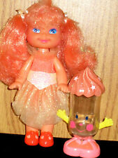 Vintage 1990 Cherry Merry Muffin Peach Perfection Doll w/assessory Ex. Cond.