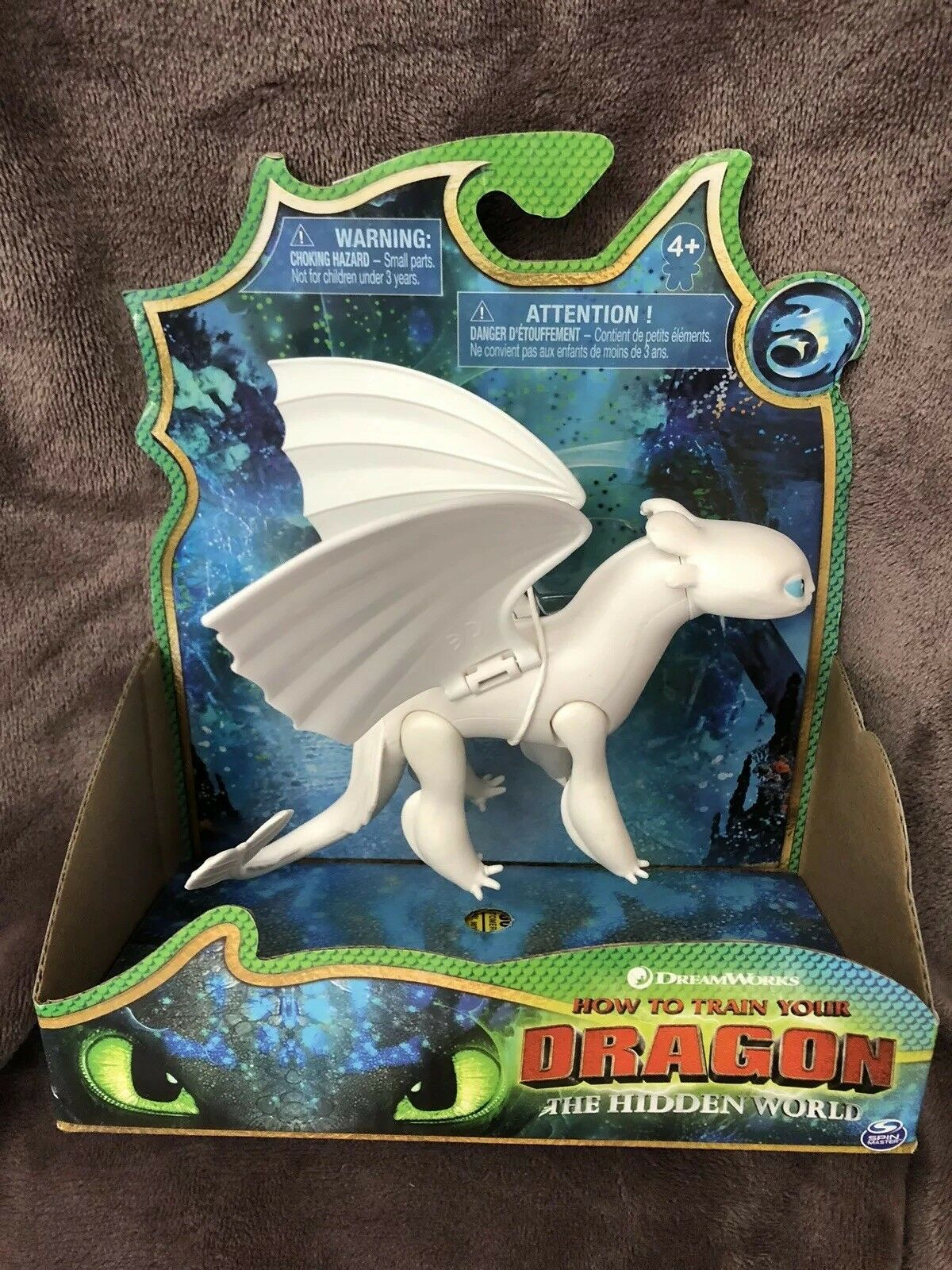 How To Train Your Dragon Hidden World LIGHT FURY Figure Hidden Dreamworks