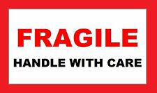 FRAGILE Handle With Care Labels - Self Adhesive - 130 stickers