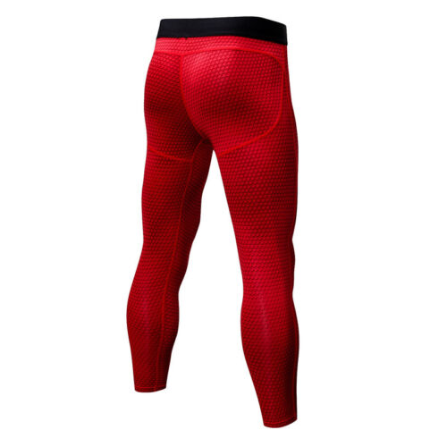 Hommes Compression Legging 3//4 Sports Running Entraînement Base Couches Dri Fit Tight Fit