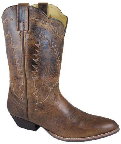 ¡ nuevo  Smoky Mountain botas-Damas-Western Bota De Cowboy - 12  De Cuero-marrón