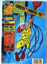 a)SPIROU N°2621; Pierre Tombal/ Le Gang Mazda/ Avec le mini-livre