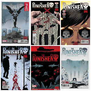 PUNISHER-7-8-9-10-11-12-SET-OF-6-1st-PRINT-Cloonan-Marvel-NETFLIX-2017-NM