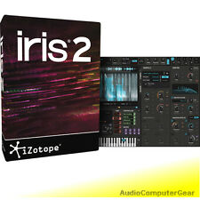 iZotope IRIS 2 EDU sample re-synthesizer Software Synth Plug-in NEW