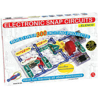 Electronic Snap Circuits 300 Projects Kids Building Toy Electronics By Elenco