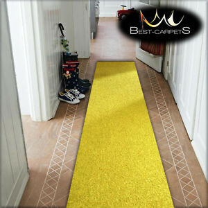 cheap runner hallway modern yellow corridor width 50 100cm rugs