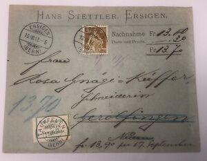 Helvetia-Ersingen-Tauffelen-Nidau-um-1912-15-X-11-5-cm-30537