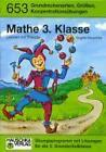 Lernen mit Freude - Mathe 3. Klasse von Brigitte Hauschka (2005, Geheftet)