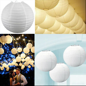 White-Paper-Light-Chinese-Paper-Lampshade-Lantern-Wedding-Xmas-Party-Decorations