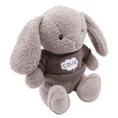 5 Colors Cartoon Long Ears Rabbit Plush Doll Stuffed Bunny Kids Girls Toy S