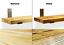 miniature 3 - Rustic Shelf Scaffold Board Industrial Solid Wood Brackets Vintage SIZES Shelves
