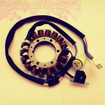 NEW STATOR COIL FOR YAMAHA 300 W YFM 250 Bear Tracker 2001-2004 YFM 250 Bruin 2005-2006 YFM 660 R Raptor 2001-2005