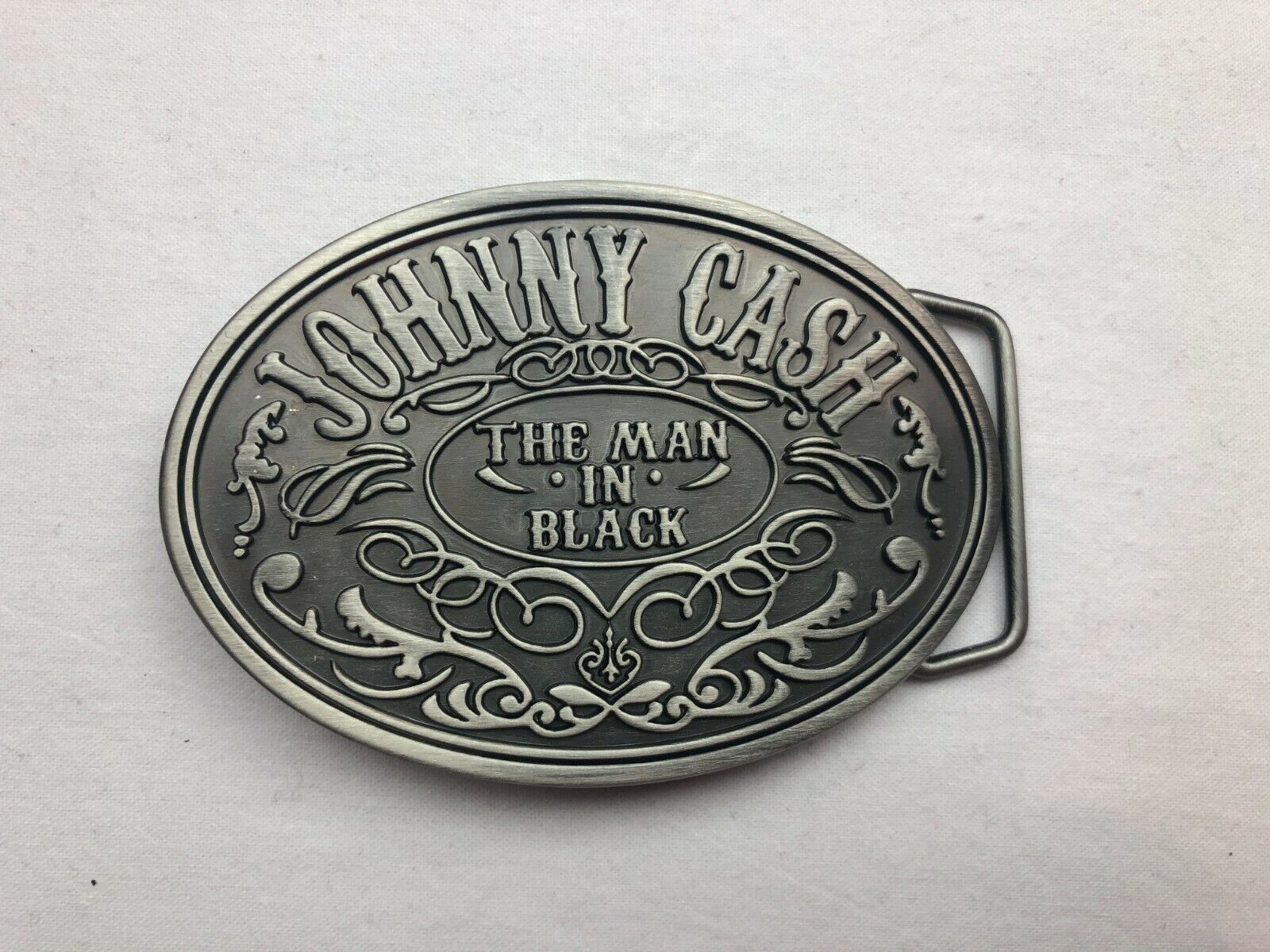 Johnny Cash 2006 The Man in Black Authentic New Belt Buckle