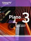 Piano 2015-2017: Pieces & Exercises: Grade 3 by Trinity College London (Paperback, 2014)