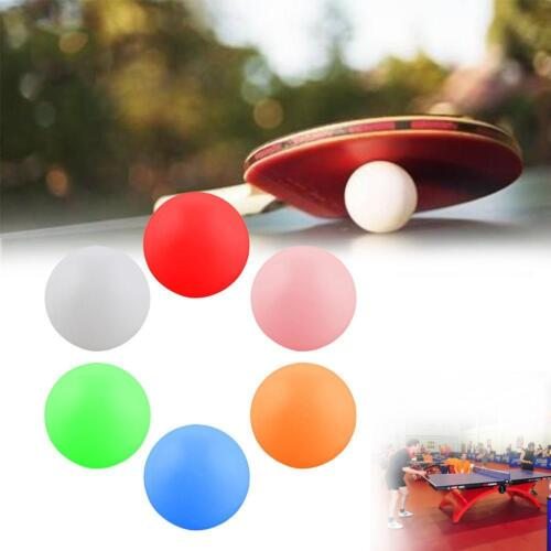 AWESOME! 20x 40mm 6 Color Table Tennis Ping-pong Balls Seamless High Hardness