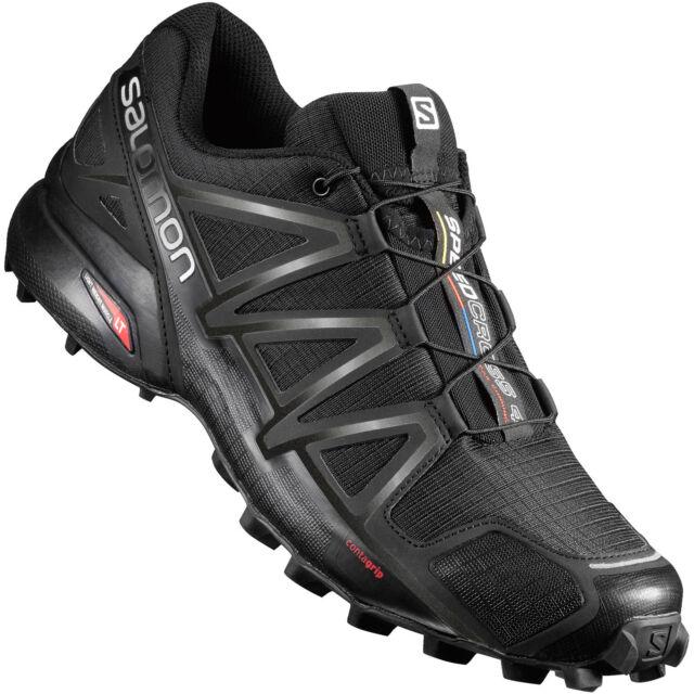 Salomon Speedcross 4 Traillaufschuhe für Herren, EU 45, UK 10 Schwarz