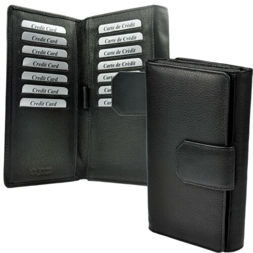 AMARI XXL Geldbörse mit RFID-Schutz und 32 Fächern Portemonnaie Geldtasche Damen