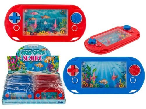 Water Game Console Pad Childrens Handheld Kids Toy Game Stocking Filler Gift
