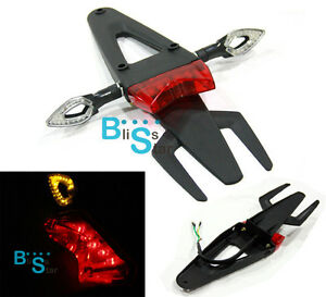 Led Dirt Bike Rear Tail Light Turn Signals Aprilia Mxv Rx
