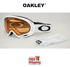 OAKLEY® A FRAME® 2.0 SNOW BOARD SKI GOGGLES GLOSS WHITE W/ PRESIMMON LENS NEW