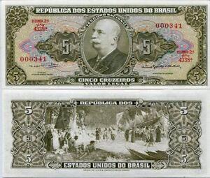 BRAZIL 100000 100,000 CRUZEIROS 1993 P 235 a SIGN 29 UNC