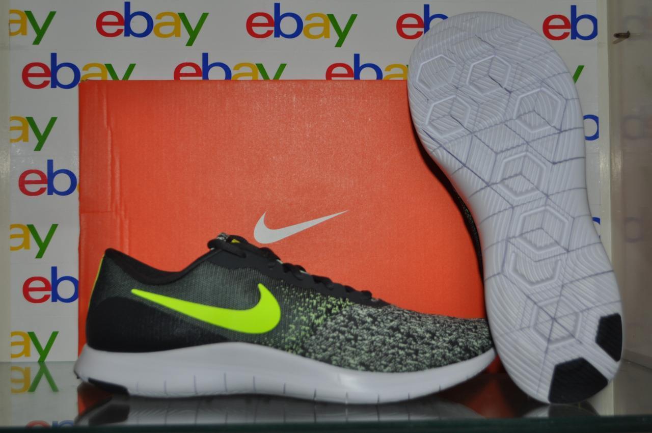 Nike Flex Contact 908983 005 Mens Running Shoes Gray/Volt NIB