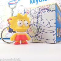 Kidrobot Simpsons Vinyl Keychain Series - Lisa -