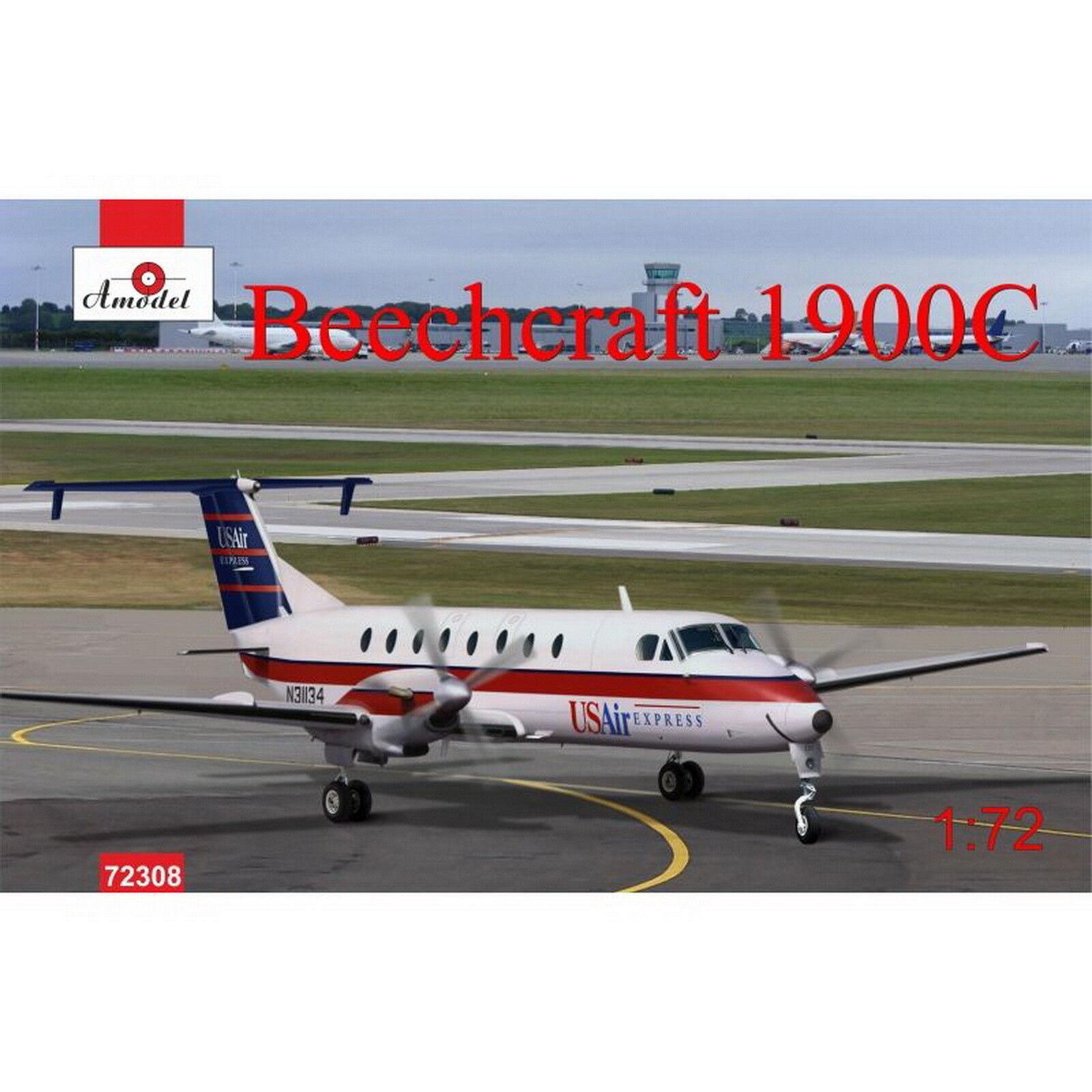 Amodel 72308 Beechcraft 1900C 1 72 hobby model kit
