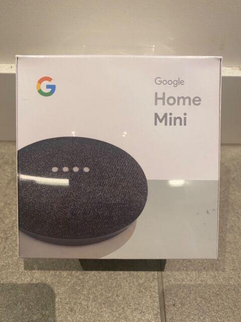 Brand New Google Home Mini in Charcoal