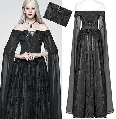 Outlet Robe Bal Marié Gothique Baroque Elfique Jacquard Dentelle Corset Punkrave