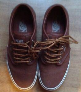 Shoes Light Van 6 hombre para Van 25 Flat Tamaño cm Brown xqaIw61aH