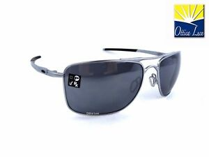 33b44cc890 Oakley Gauge 8 L 4124 07 Lead Black Iridium Sunglass Occhiali Sole ...