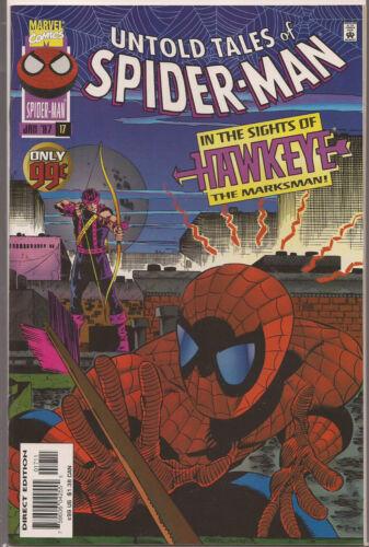 UNTOLD TALES OF SPIDER-MAN # 17 HAWKEYE! NEAR MINT