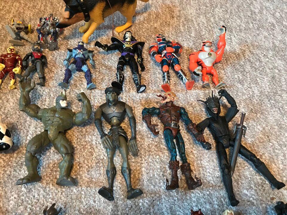 Legetøj Actionfigurer 34 stk blandet figurer, Se billeder
