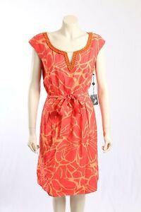 NEW-Adrianna-Papell-Size-18-Orange-Dress-w-Bead-Detailing-RRP-160-00