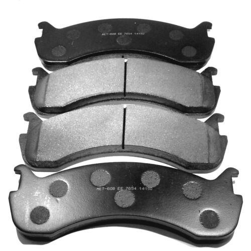 REAR BRAKE PADS for WORKHORSE SEMI METALLIC W20 W21 W22 Premium Rear Brakes