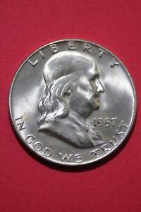 1957-D BU FRANKLIN HALF DOLLAR SINGLE COINS