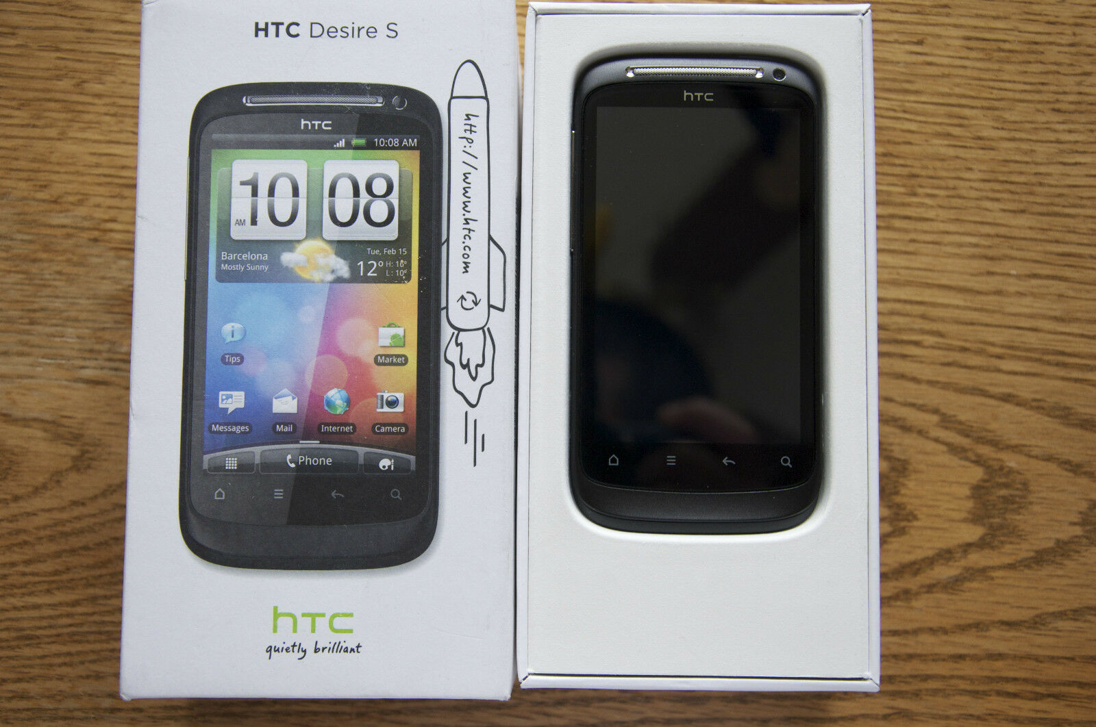 htc desire s 1 1gb black unlocked smartphone ebay rh ebay com HTC One V HTC Desiree