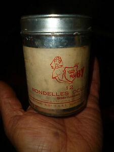 Ancienne Petite Boite Tole Rondelle Oculaire ( Lentille ) Voiron En Chartreuse Azwb83nd-07235935-737067985
