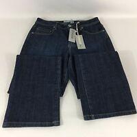 Women's Chico's Platinum Jeans Size 1 Dark Wash Waist 30 Inseam 32