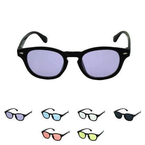 Enfants Square de Style Rétro Carré Lunettes de soleil de couleur lens Garçons Filles UV400