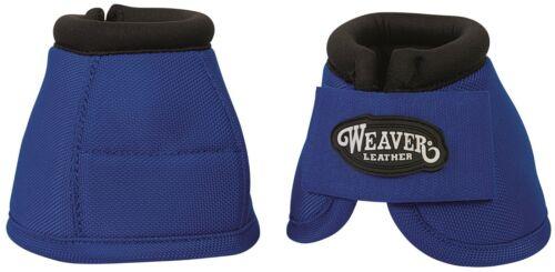 Weaver Leather Equine Ballistic Nylon 2520D No-Tour de démesure Bell Bottes Bleu