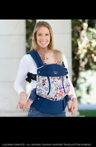 Details About New Rare Lillebaby Baby Carrier Complete All Seasons Tokidoki Passport