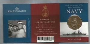 2001-1-NAVY-UNCIRCULATED-ROYAL-AUSTRALIA-MINT-SCARCE
