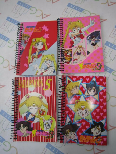 Anime Comic Manga Pretty Guardian Sailor Moon S Small Notebook Set A Toei