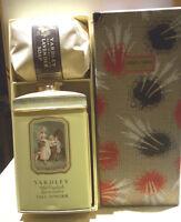 Vtg Yardley Old English Lavender 8oz Talc & Large Lavender Soap In Gift Box