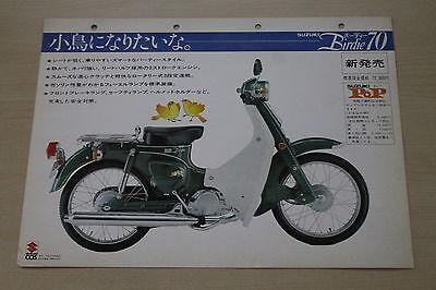 170052) Suzuki Birdie 70 - Japan - Prospekt 197?