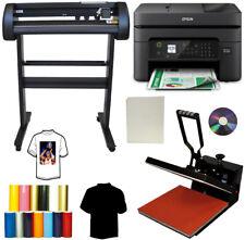15x15 Heat Transfer Press 28 Laser Meta Vinyl Cutter Plotter Wireless Printer