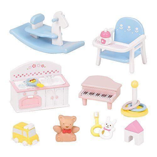 211 Sylvanian Families furniture baby toys set mosquito